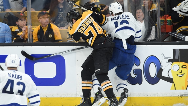 Maple Leafs Vs Bruins Referees Overshadow The Results Centre Of